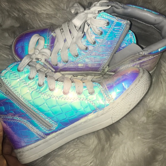 Justice Shoes | Holographic Tennis